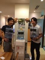 天然水を配達しつつお客様から学ばせていただいてます(大阪市中央区)