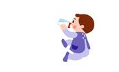 赤ちゃんのミルクに